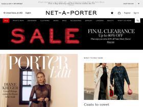 NET-A-PORTER Alennuskoodit & Kampanjakoodit